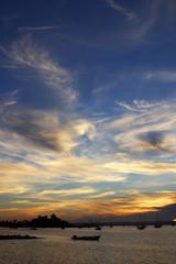 Sunrise in La Paz, Baja California Sur, Mexico