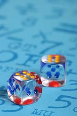 dadi colorati - probabilità