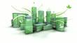 3d Building ville verte ecologie Animation boucle