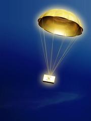 parachute doré
