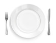 Place Setting with Plate, Knife & Fork - 13124507