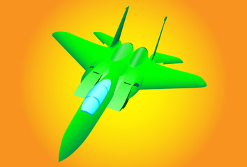 The green plane.