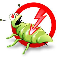 Label of pest control