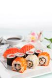 Fototapety Sushi plate