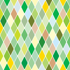 Harlequin springtime background