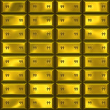 great  image of gold bars or ingots poster