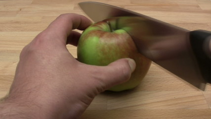 Cutting an Apple