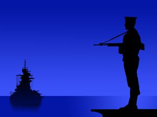 marinaio guardia notturna