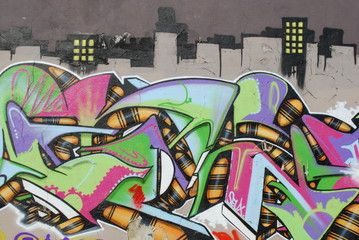 Graffiti Wall (City)