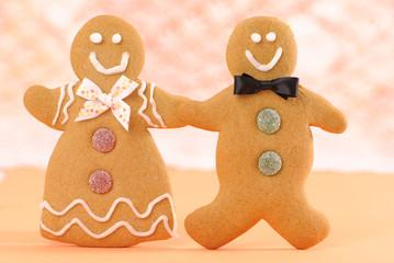 Homemade Gingerbread Figures