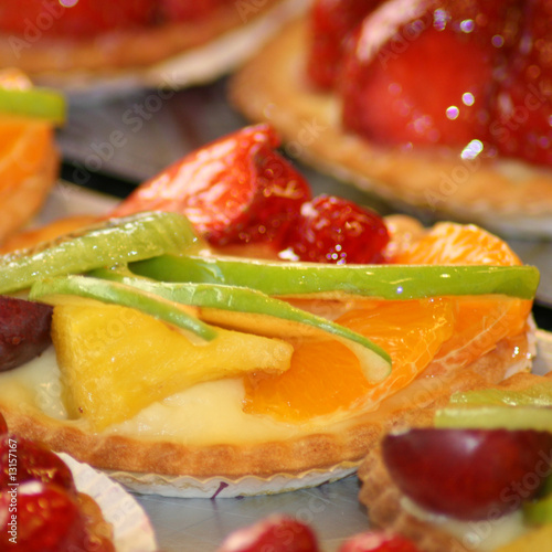 tartelettes fruits