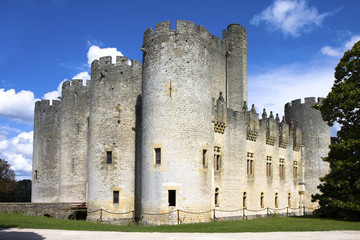 Chateau de Roquetaillade, Mazeres, Gironde, Aquitaine, France