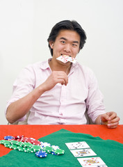Poker frustration