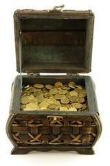 chest full of coins