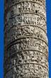 colonna di Marco Aurelio a piazza colonna a Roma in Italia