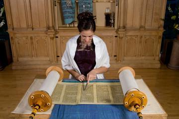 Bat Mitzvah Torah Reading