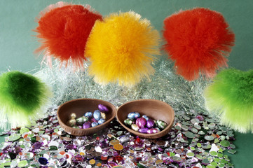 Contemporary Easter sparkle.