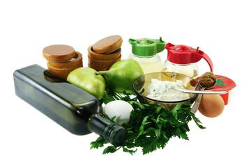 Components salad