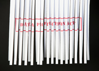 Shredded Document - Data Protection Act