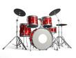 Leinwanddruck Bild - Drums