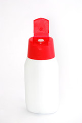 Plastic sauce dispenser