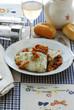 Filetti di merluzzo con funghi chiodini - Secondi del Veneto