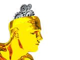 cyber brain poster