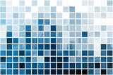 Blue Simplistic and Minimalist Abstract poster