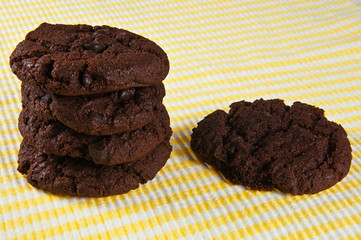 Four Choc Chip Cookies