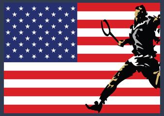 Tennis Player American