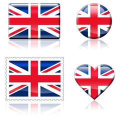 Bandeiras Reino Unido