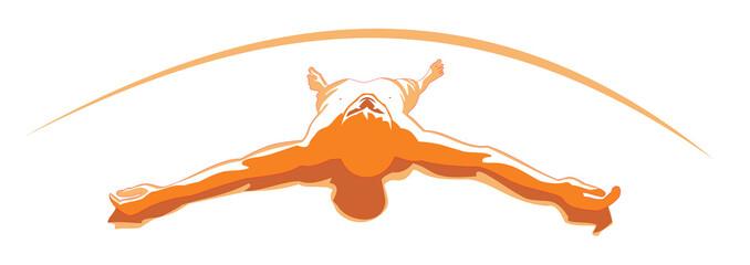 Orange relax