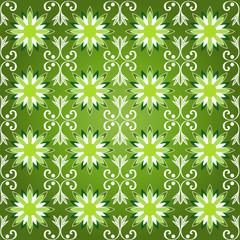 floreale verde