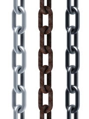isolated seamless set of chains