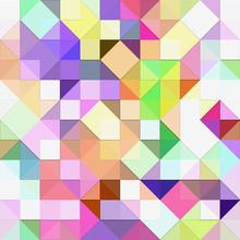 Jasne pastelowe mozaiki