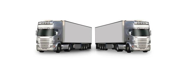 deux camions