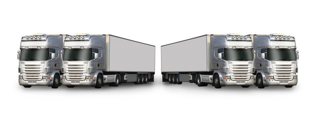 camions blancs
