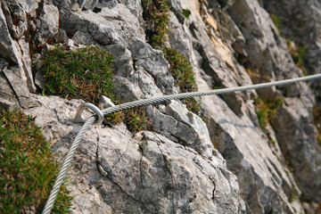 Hiking security cable
