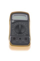 Digital multimeter close up