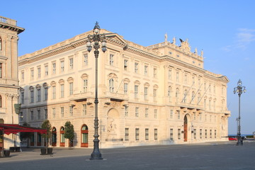Triest, Palazzo LLoyd Trieste,Piazza dell' Unità d' Italia,Italy