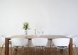 Leinwanddruck Bild - Modern dining room