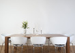 Leinwandbild Motiv Modern dining room