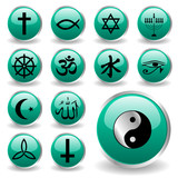 religion icons poster