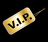 VIP access golden badge