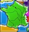la France et les pays limitrophes
