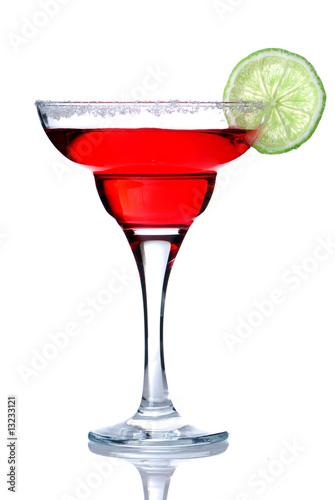 Маргарита или коктейль Дайкири́, изолированных на белом stock photography.