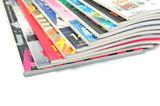 Fototapety Bunte Zeitschriften