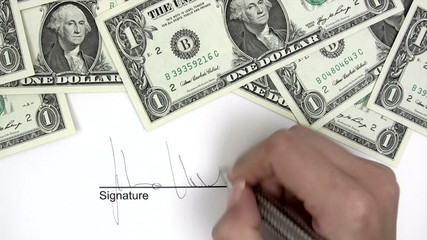 Signing Credit Agreement