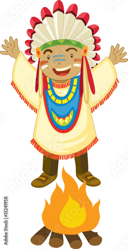 Papiers peints Indiens american indian
