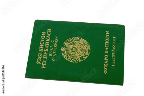 Passport of citizen of the Republic of Uzbekistan